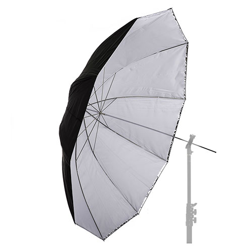 "60"" (152cm) White Convertible Umbrella"
