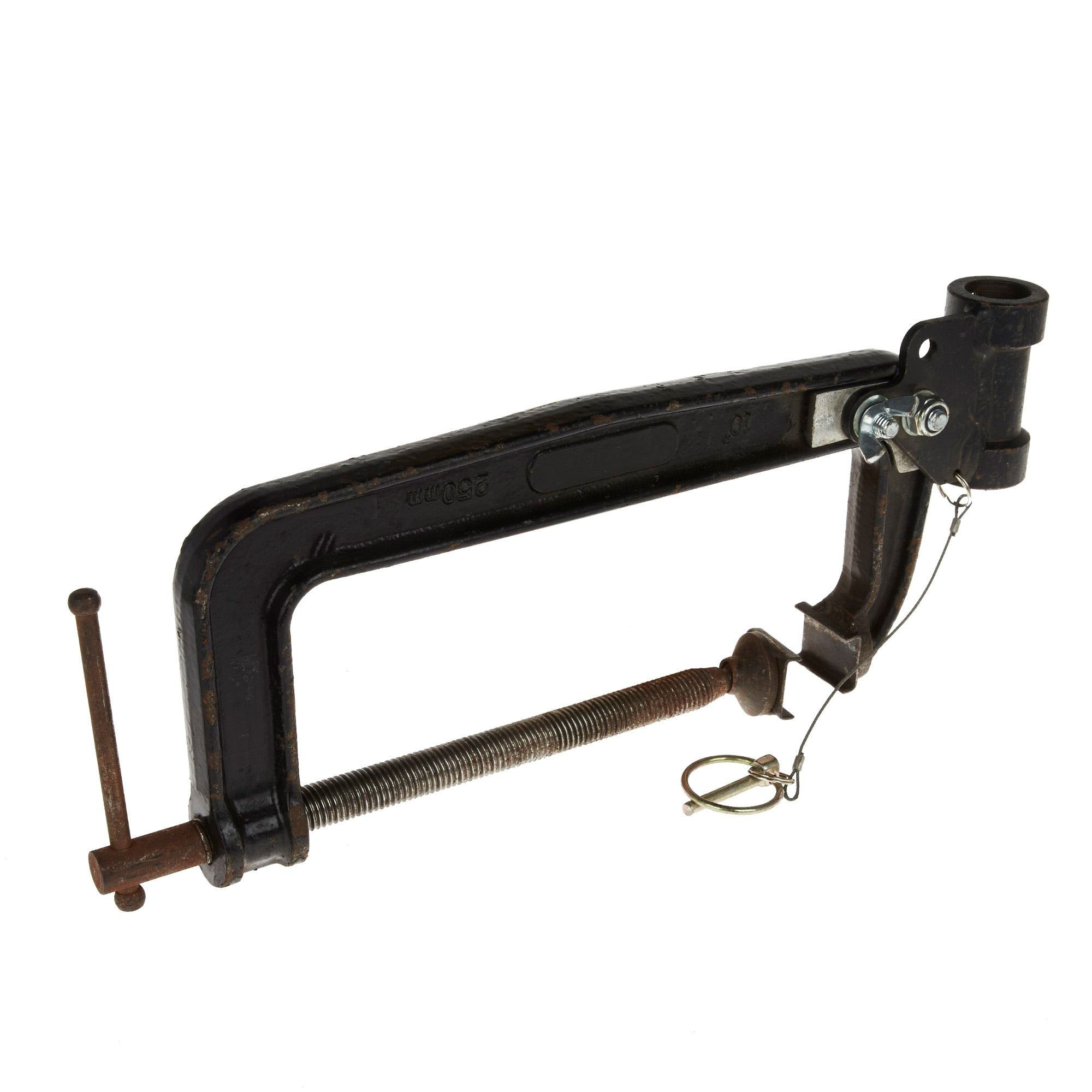 Large G Clamp With Spigot Holder