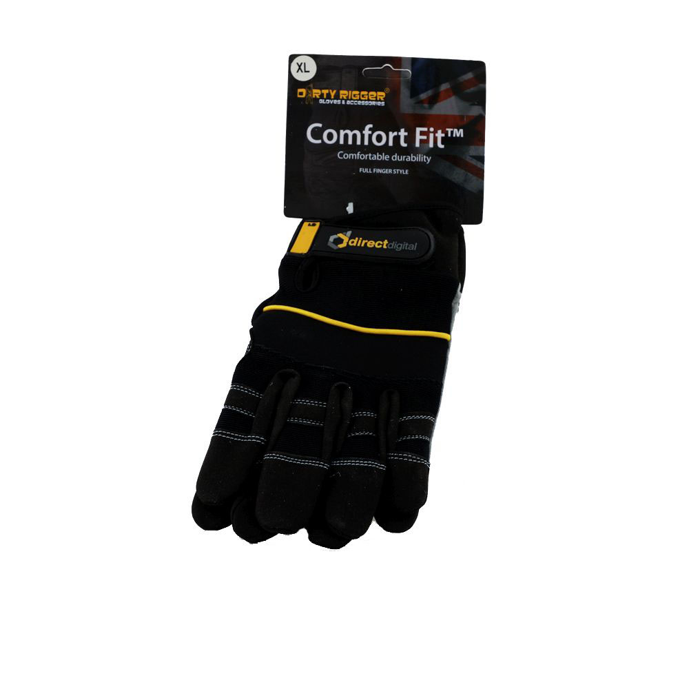 Dirty Rigger Comfort Fit Grip Gloves - X Large