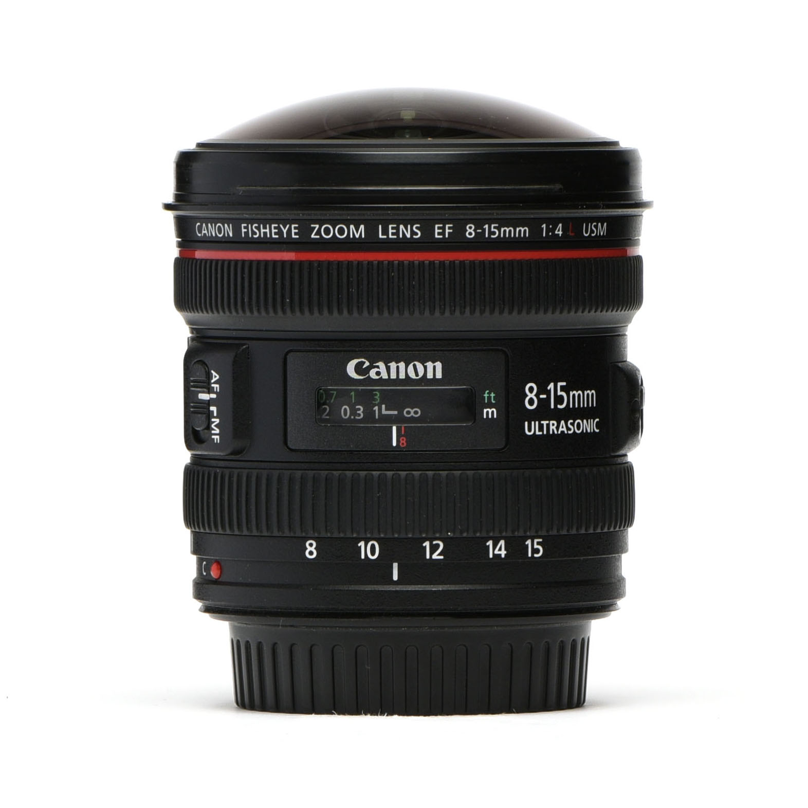 Canon EF 8-15mm F/4L Fisheye USM Zoom Lens - PRG Gear