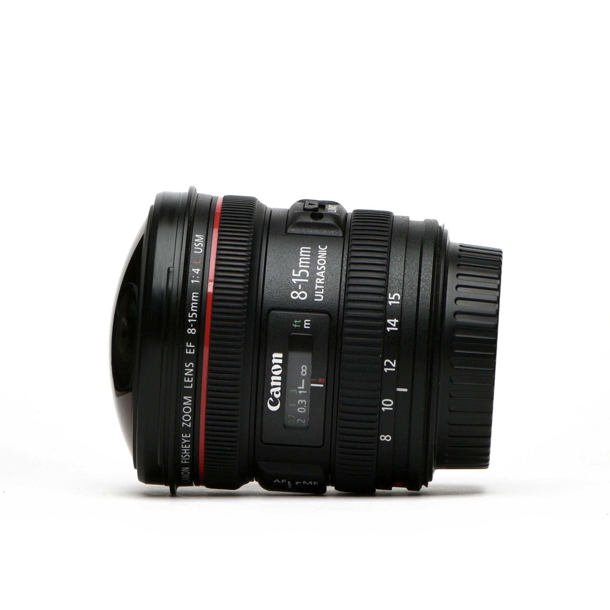 Canon EF 8-15mm f/4L Fisheye USM review
