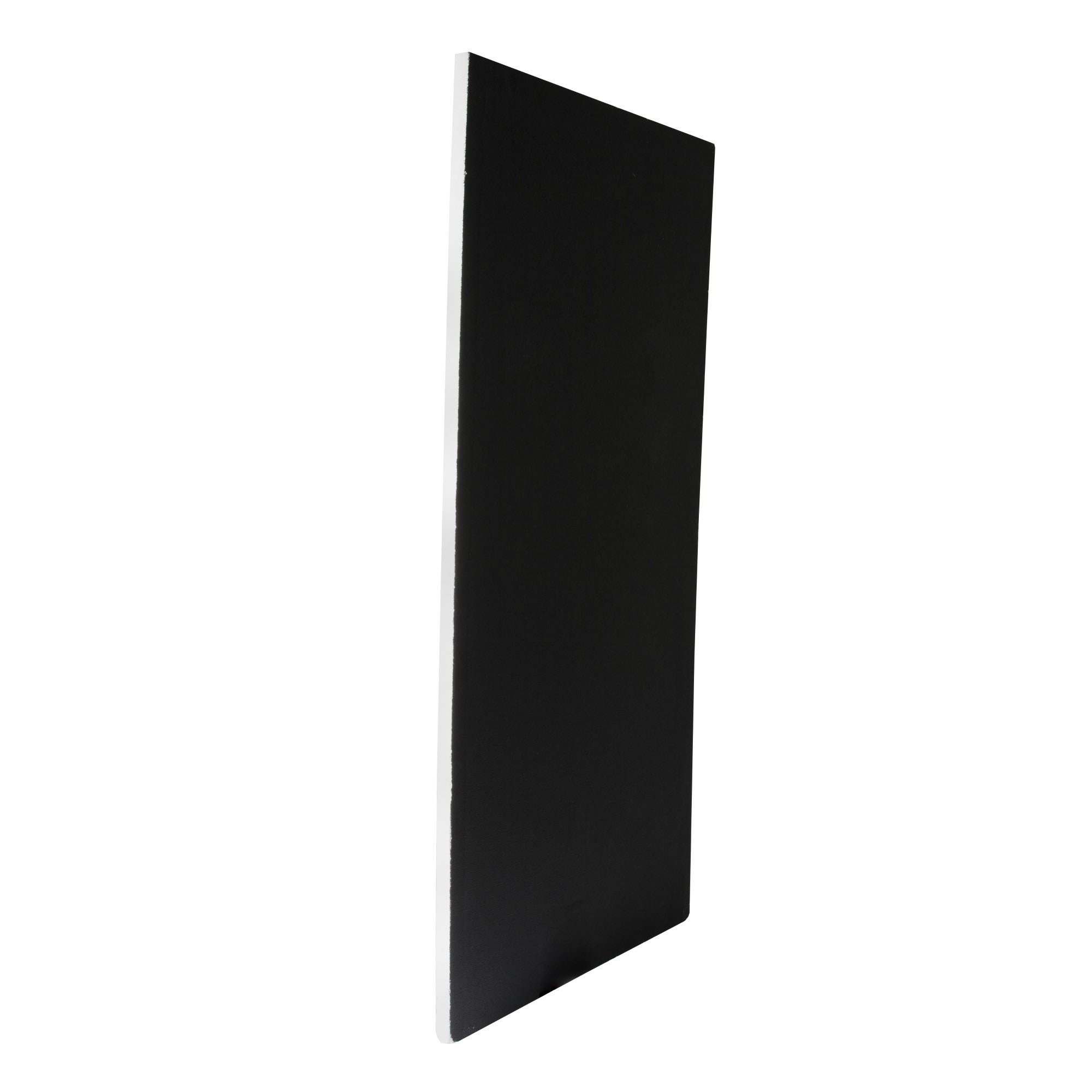 Two Inch 8x4ft Black/White Poly Board