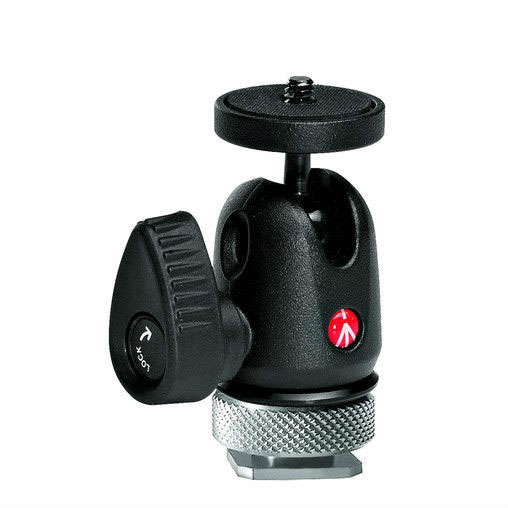 Manfrotto 492LCD Hotshoe Ball Socket Head