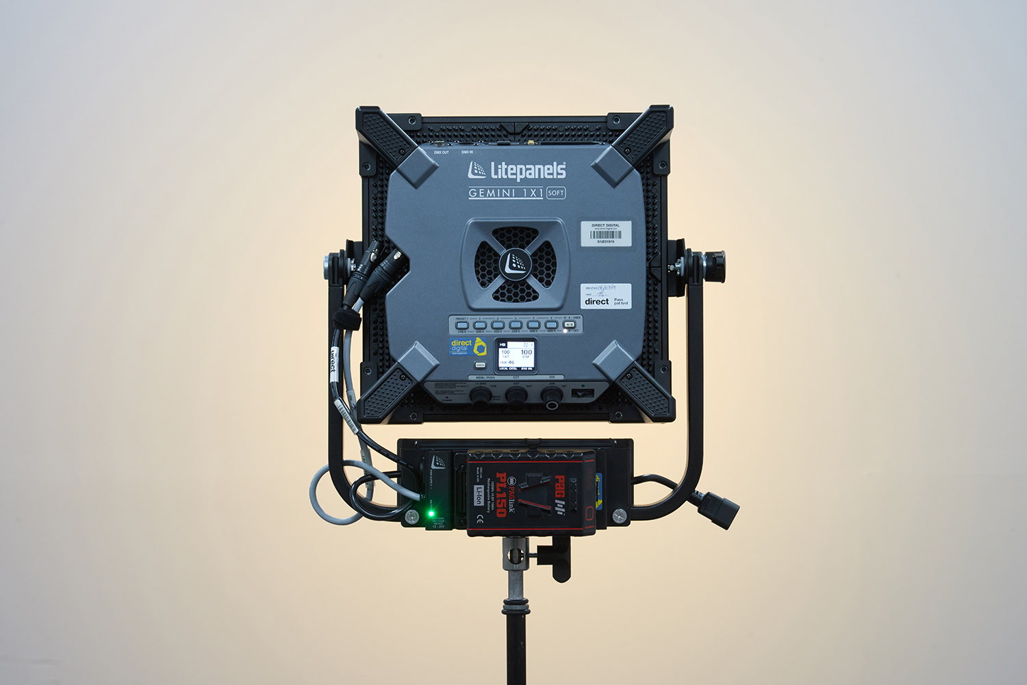 Litepanels Gemini 1x1 Rear