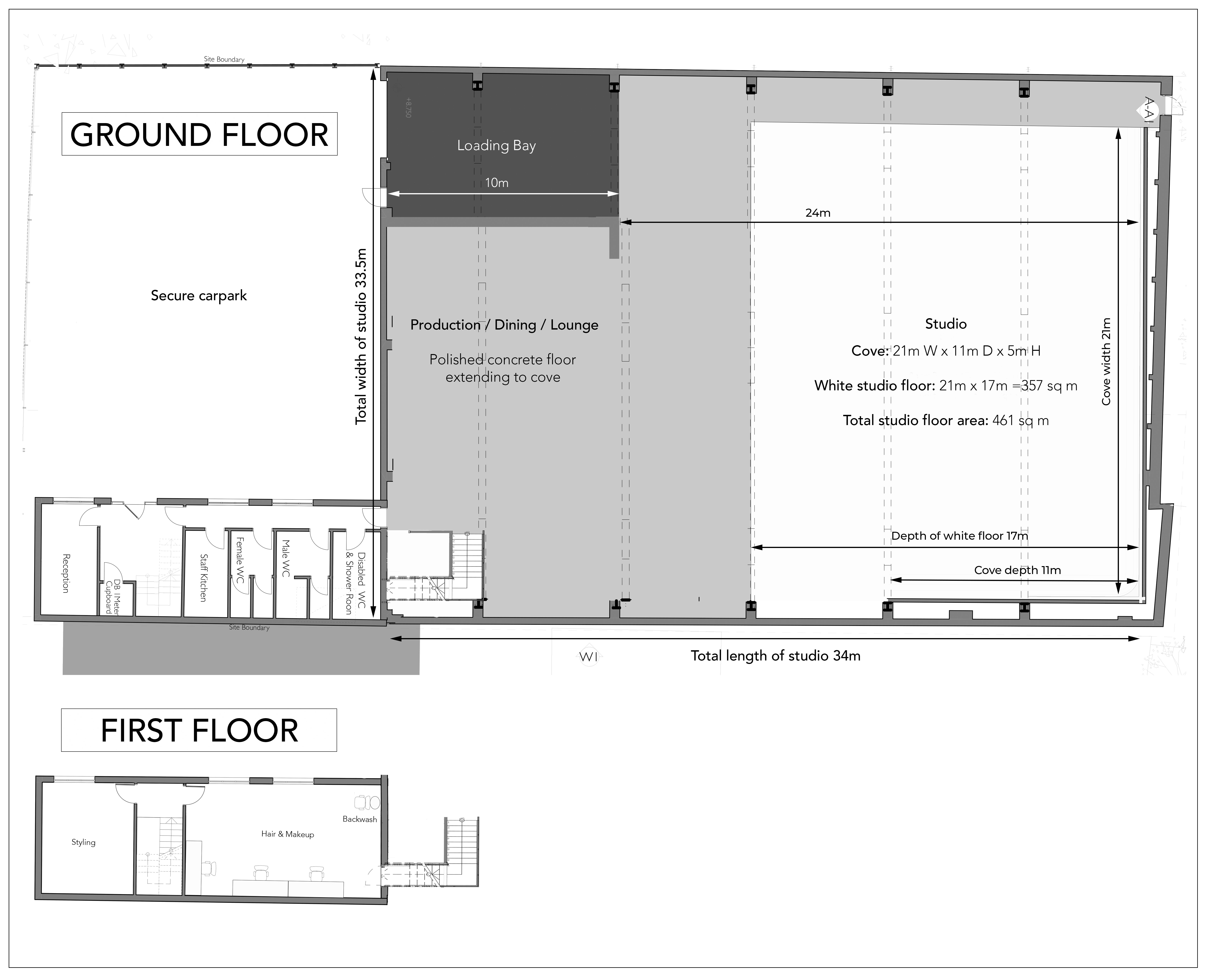 Maryland Studio Floor Plan