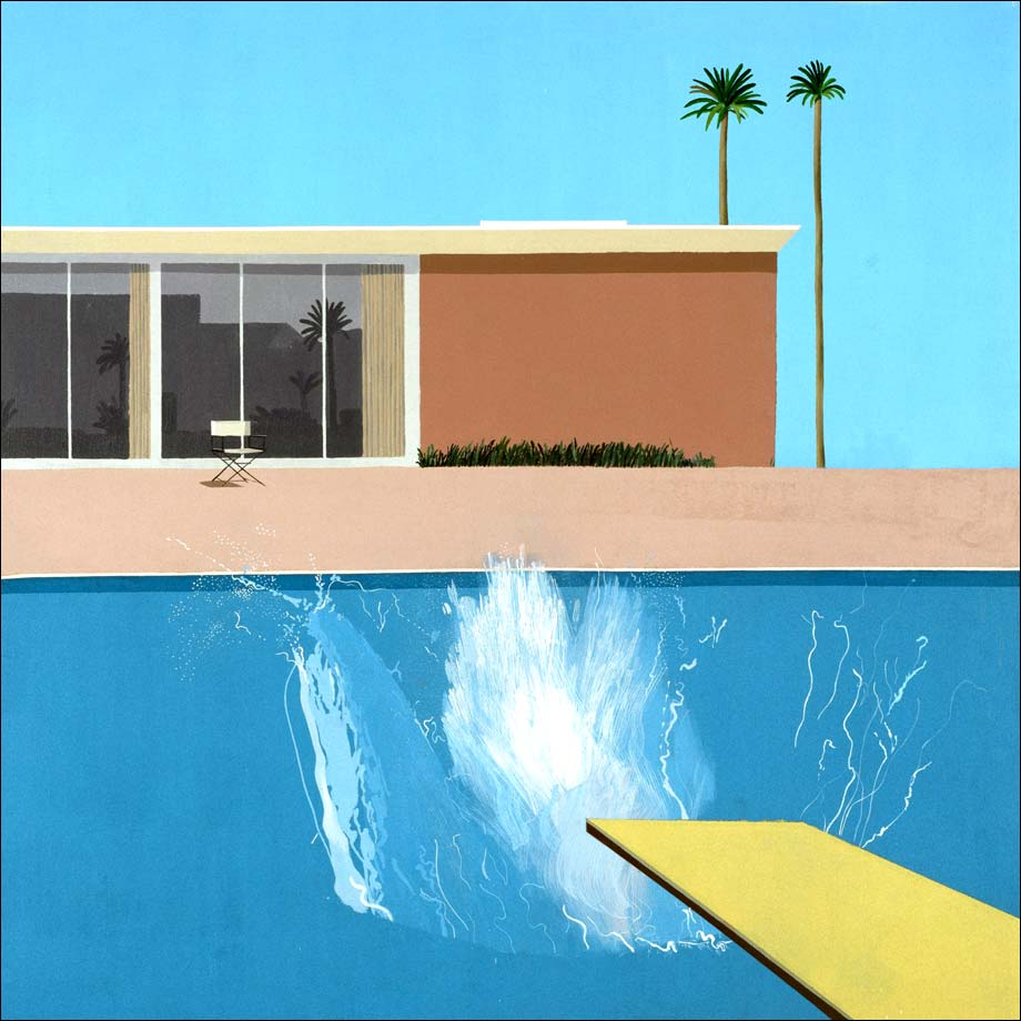 Pierre & Florent - David Hockney