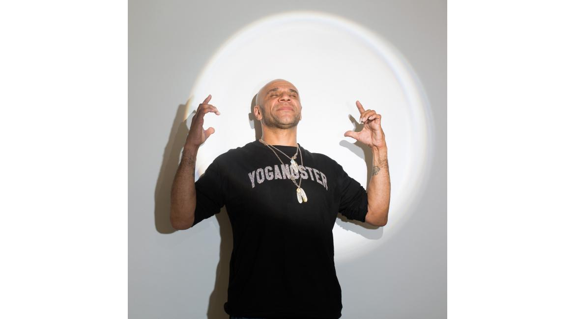 Photograph of Goldie by Justin Malone