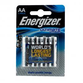 AA Lithium Batteries 4 Pack