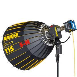 Briese 115 S-H Flash / 2Kw Tungsten Kit
