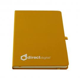 Direct Digital Lined Notebook - Yellow
