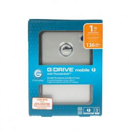 G-Tech G-DRIVE mobile 1TB 7200RPM Thunderbolt & USB2/3.1