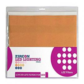 "LEE Gel Pack - Zircon WARM LED Lighting 12""x12"""