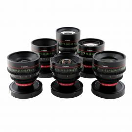Canon CN-E Lens Set (EF Fit)