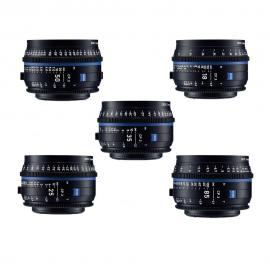 Carl Zeiss CP.3 Lens Set EF Mount T*2.1