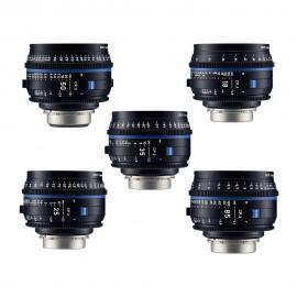 Carl Zeiss CP.3 Lens Set PL Mount T*2.1
