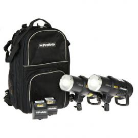 Profoto B1 500 AirTTL - 2 Head Kit - 4 x Li-Ion Batteries