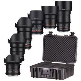 Samyang (Rokinon) VDSLR 6 Way Lens Set