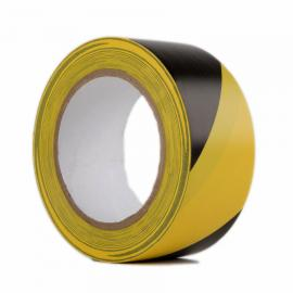 Hazard Warning Yellow/Black Tape 50mm