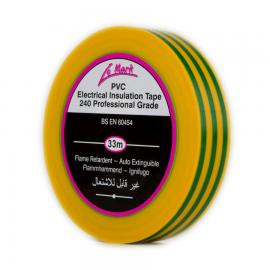 Insulation Tape 19mm - Earth