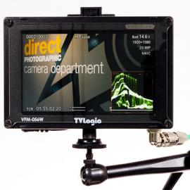 "TV Logic VFM-056WP 5.6"" HD Field Monitor w/D-tap plate"
