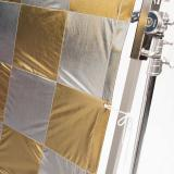 12x12Ft Chequerboard (Silver/Gold)